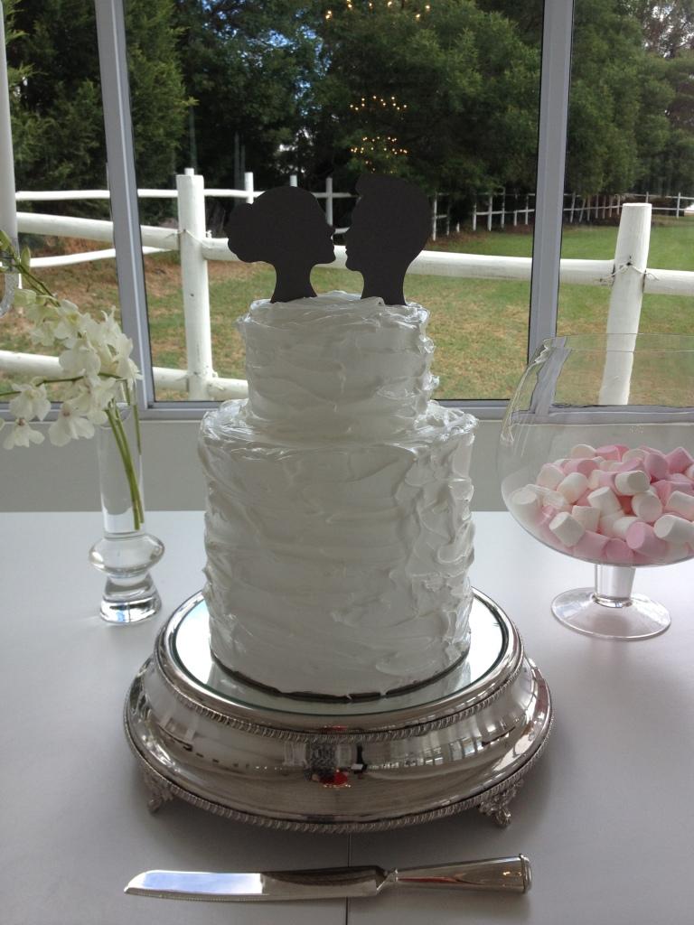 Wedding Cakes - Fudge Wedding Cake