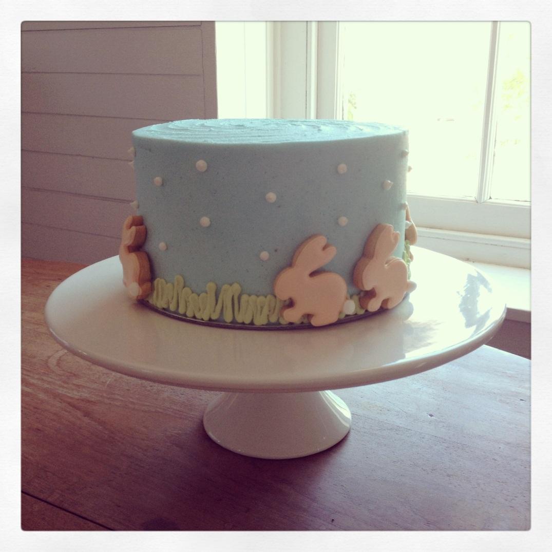 It's a bunny cake!
