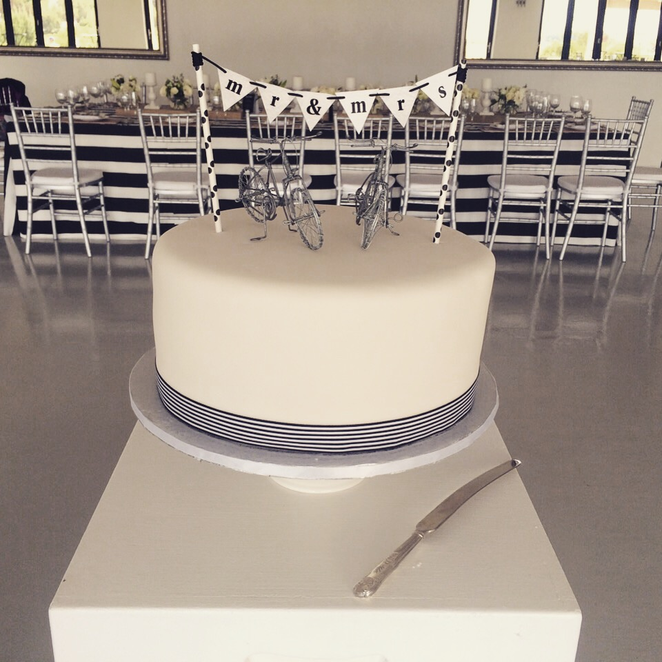 Blog - one tier fondant