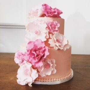 Blog - pink birthday cake